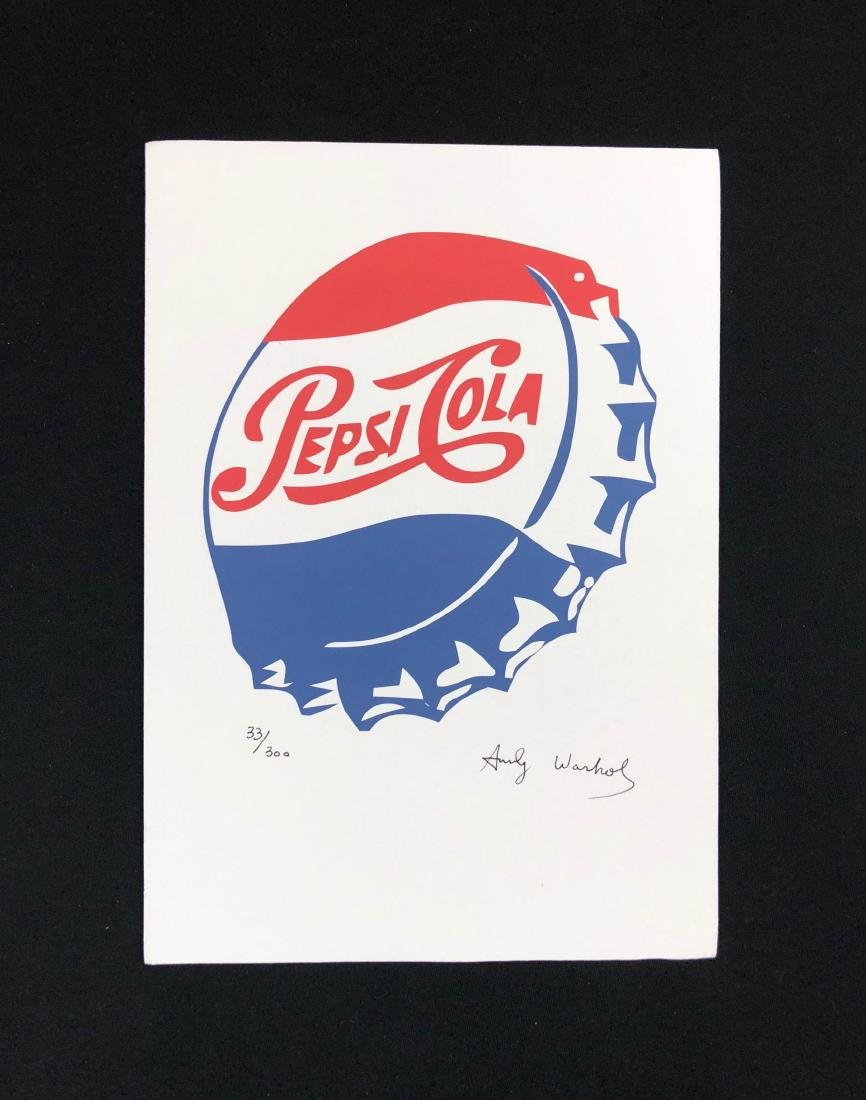 Andy Warhol (American, 1928-1987) -- Hand Signed and