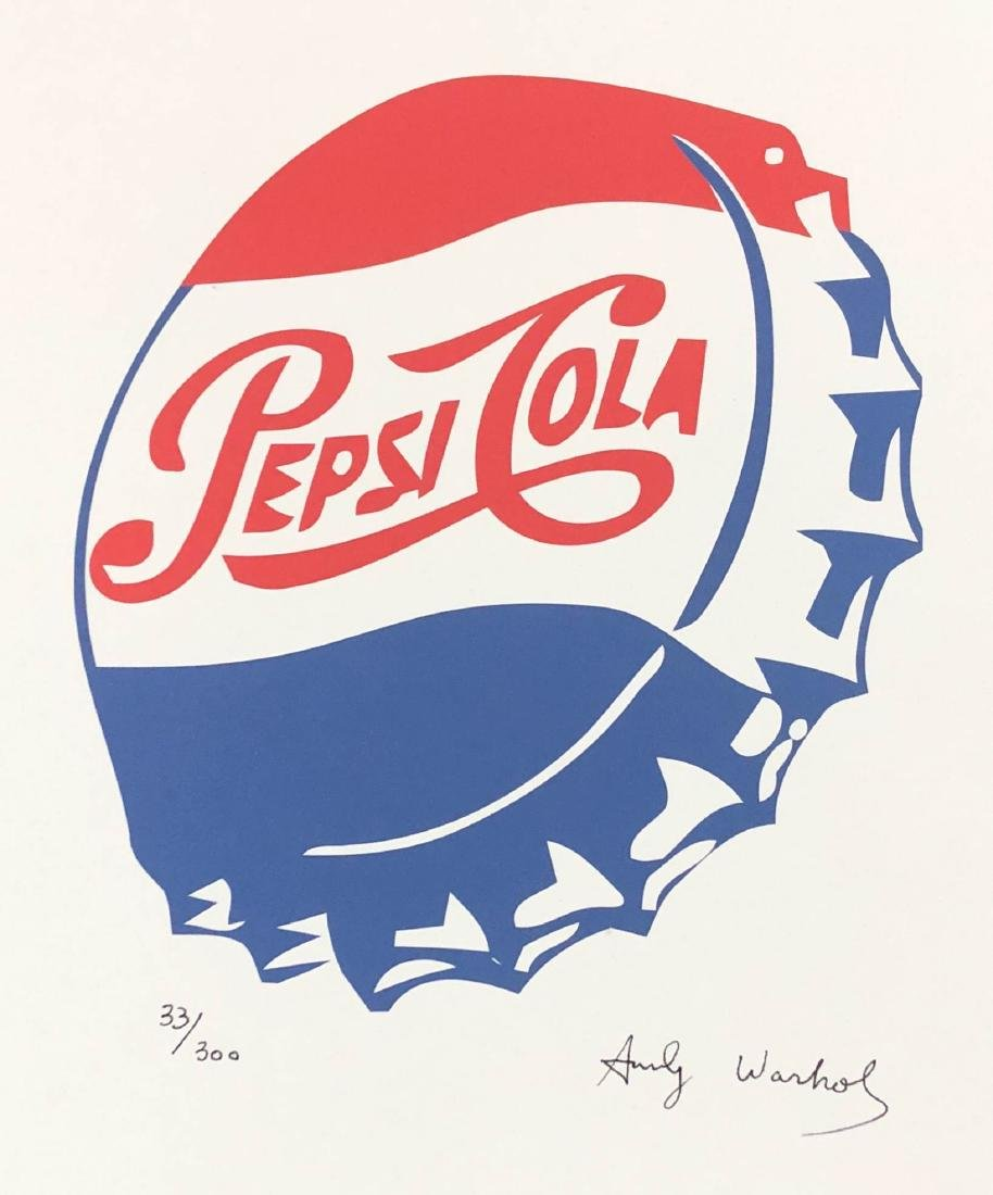 Andy Warhol (American, 1928-1987) -- Hand Signed and - 2