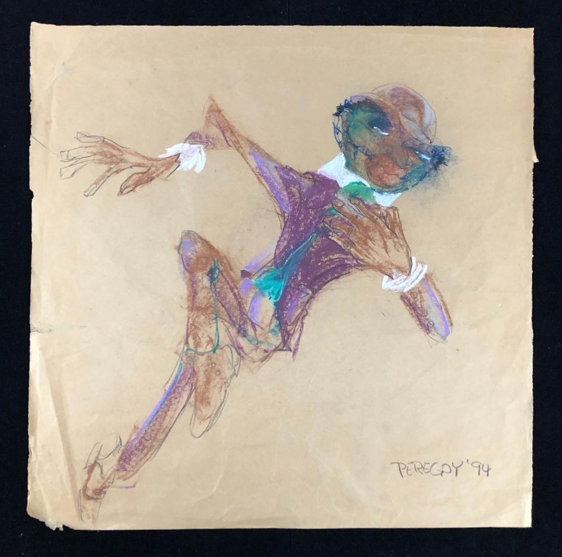 Walter Peregoy (American, 1925-2015) -- Hand Drawn - 2