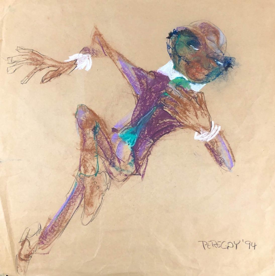 Walter Peregoy (American, 1925-2015) -- Hand Drawn - 3