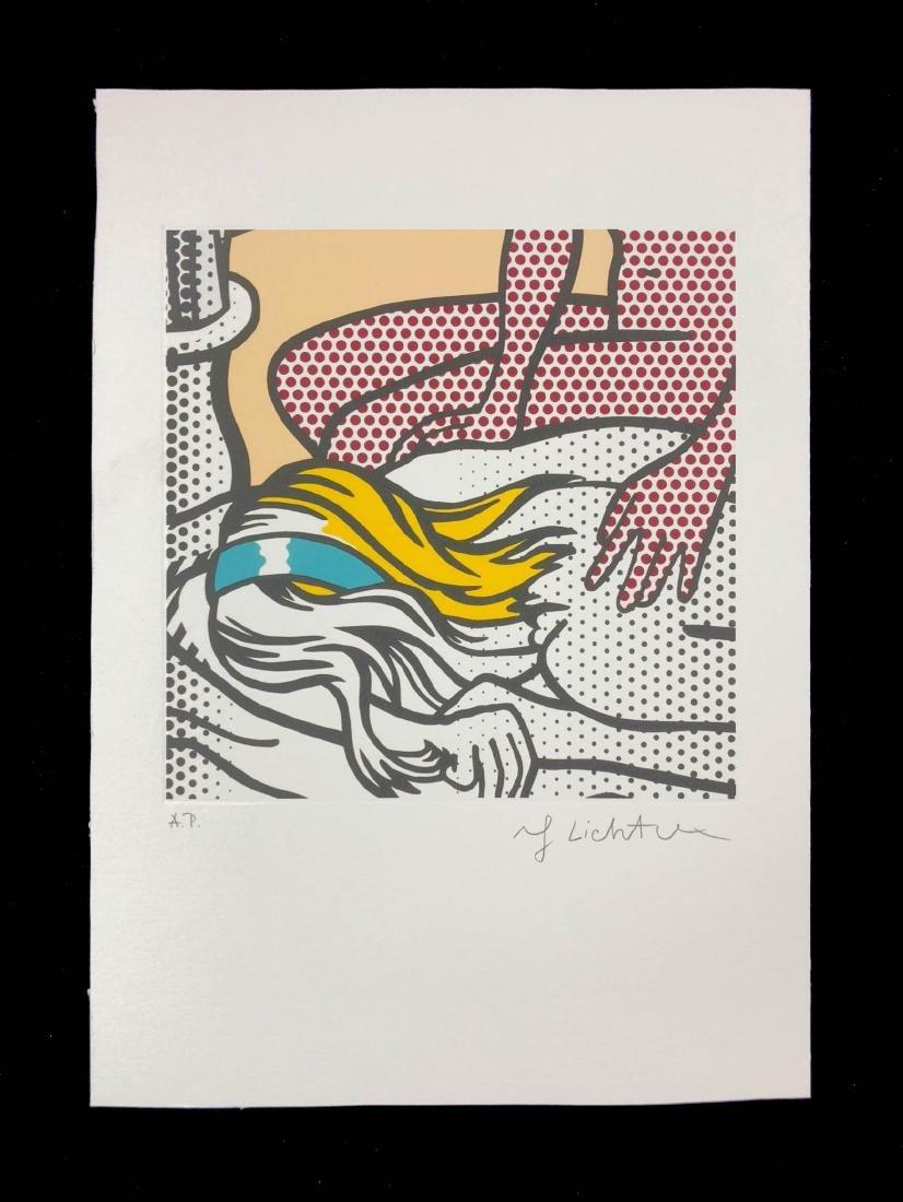 Roy Lichtenstein (American, 1923-1997) -- Hand Signed