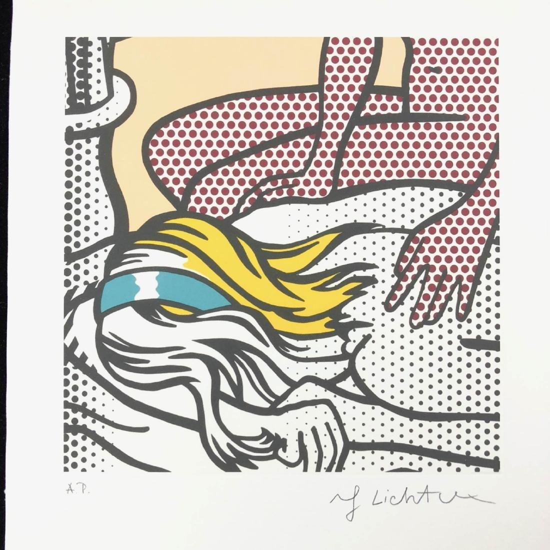 Roy Lichtenstein (American, 1923-1997) -- Hand Signed - 2