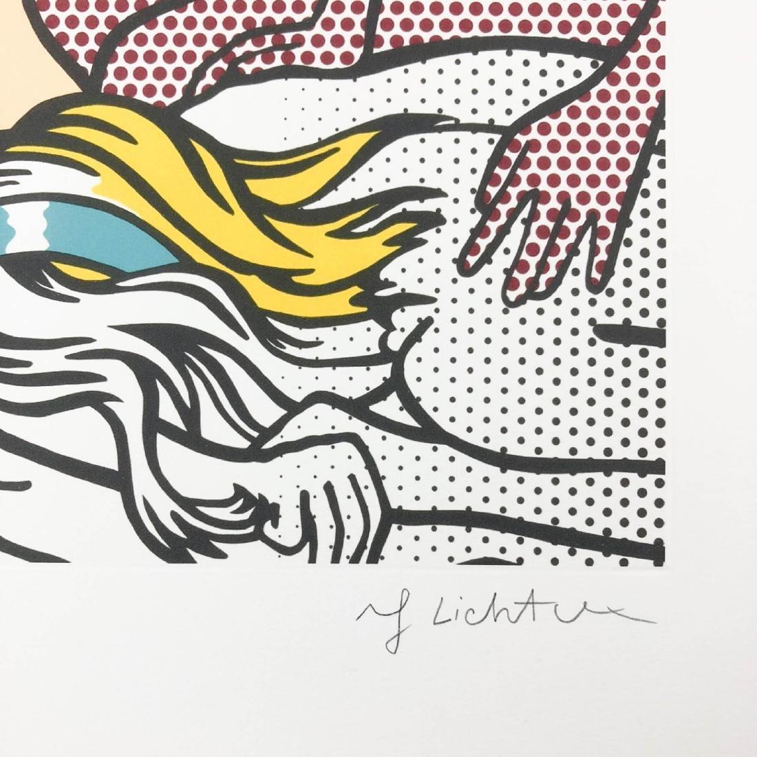 Roy Lichtenstein (American, 1923-1997) -- Hand Signed - 3