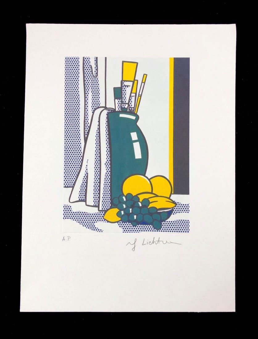 Roy Lichtenstein (American, 1923-1997) -- Studio Still