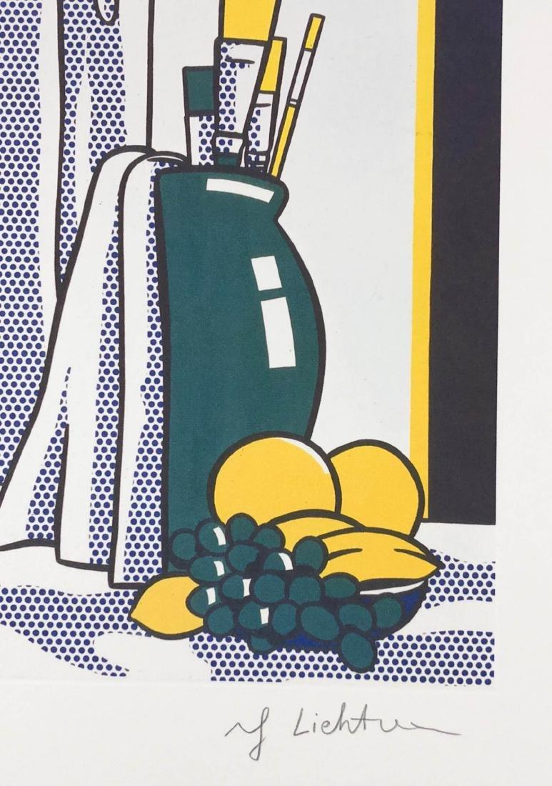 Roy Lichtenstein (American, 1923-1997) -- Studio Still - 3