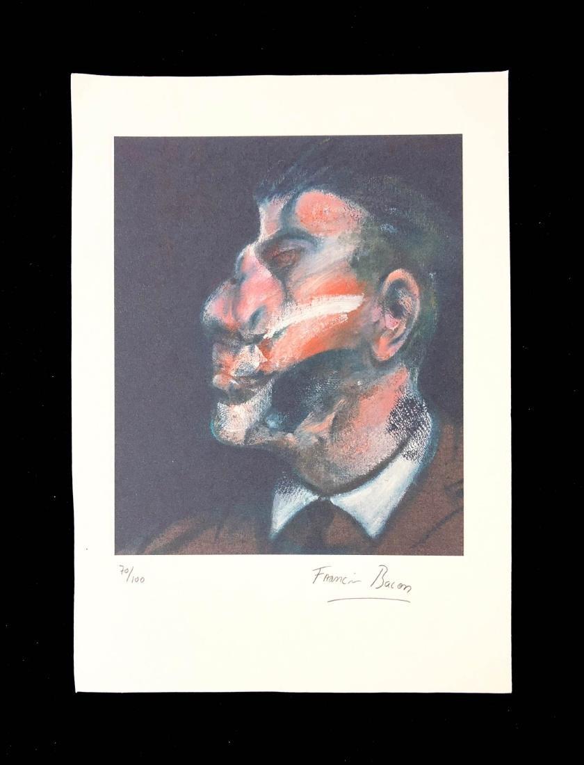 Francis Bacon (British-Irish, 1902-1992) -- Hand Signed