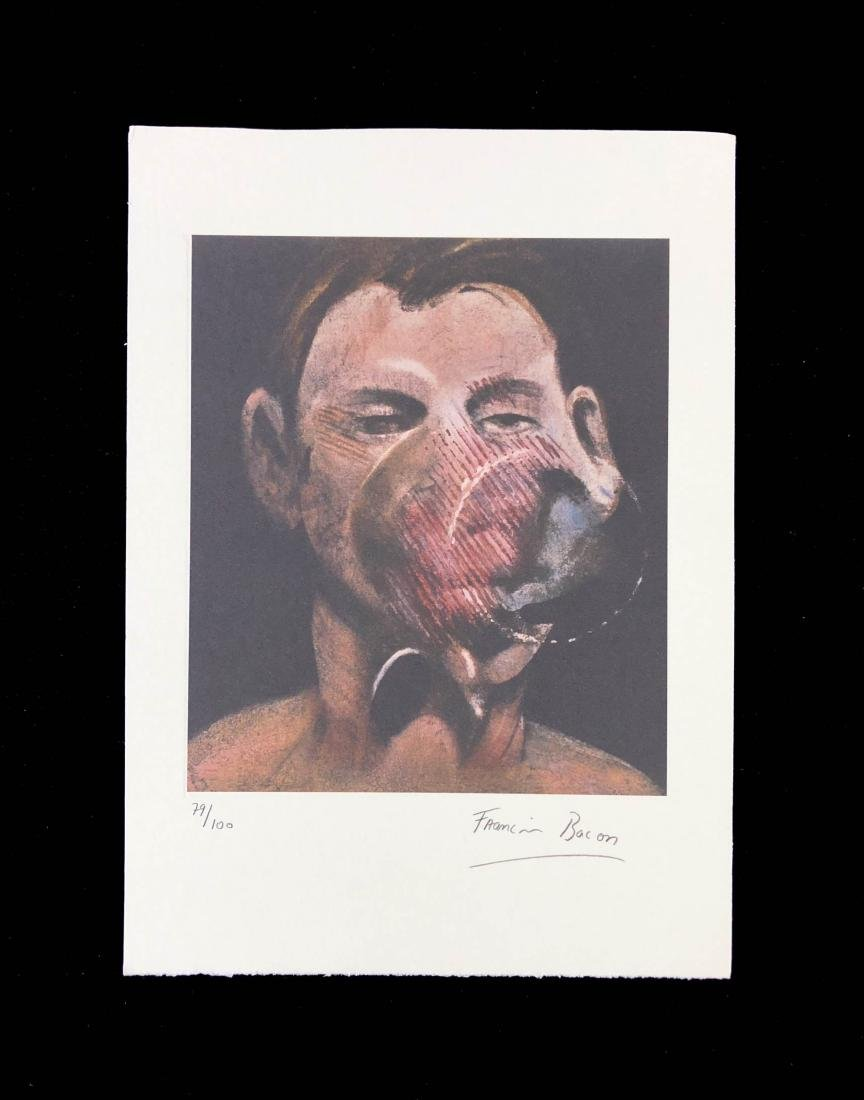Francis Bacon (British-Irish, 1902-1992) -- Hand Signed - 2
