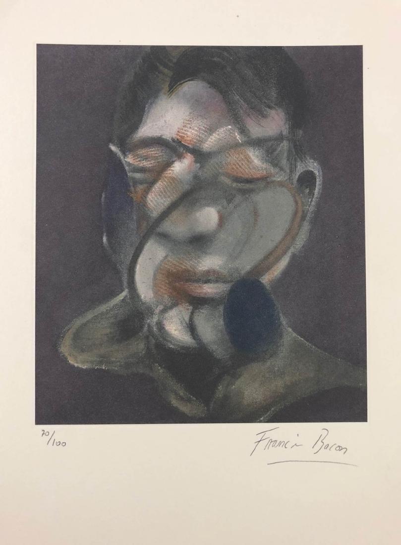 Francis Bacon (British-Irish, 1902-1922) -- Hand Signed - 2