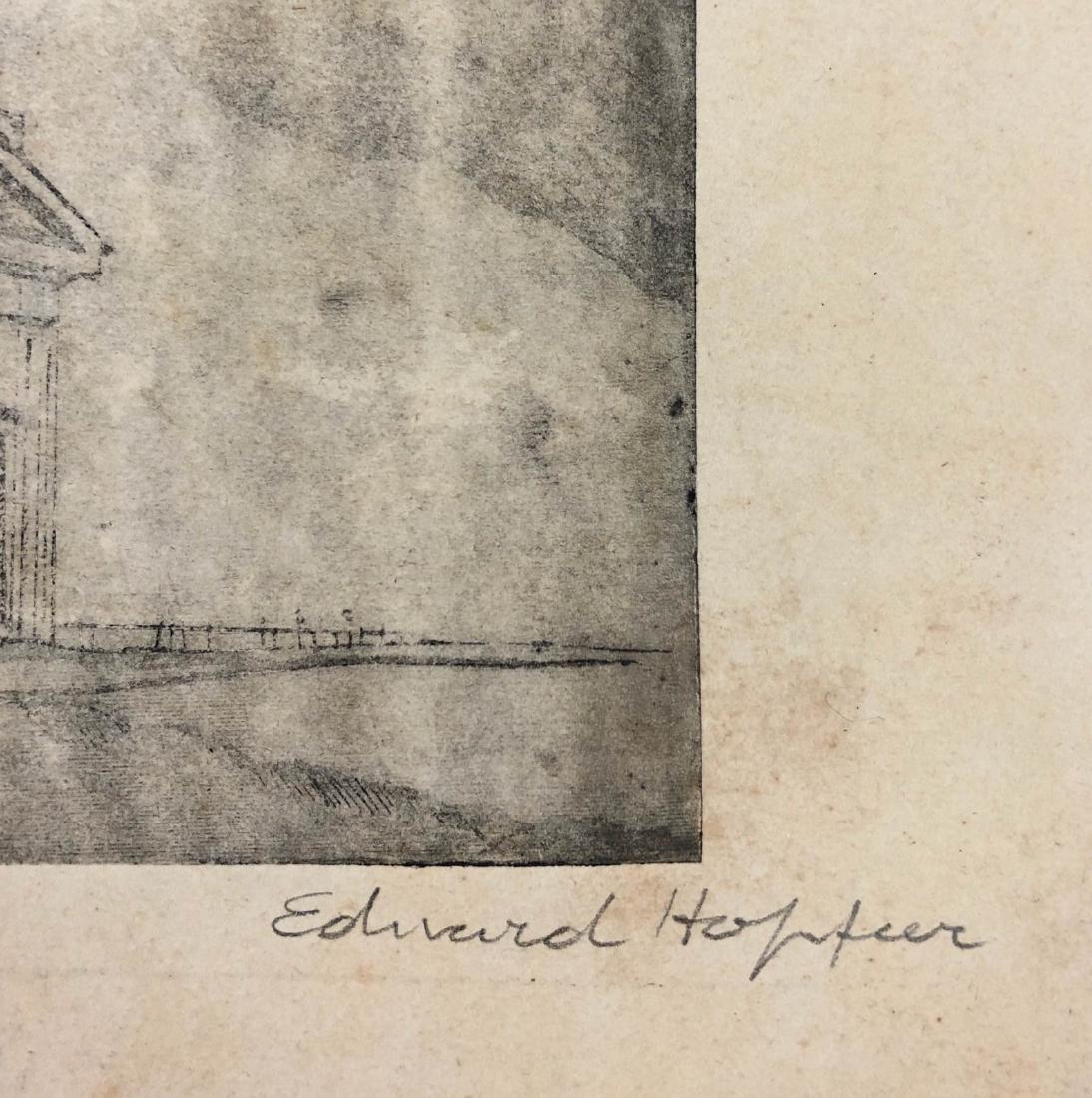 Edward Hopper (American, 1882 - 1967) -- Hand Signed - 3