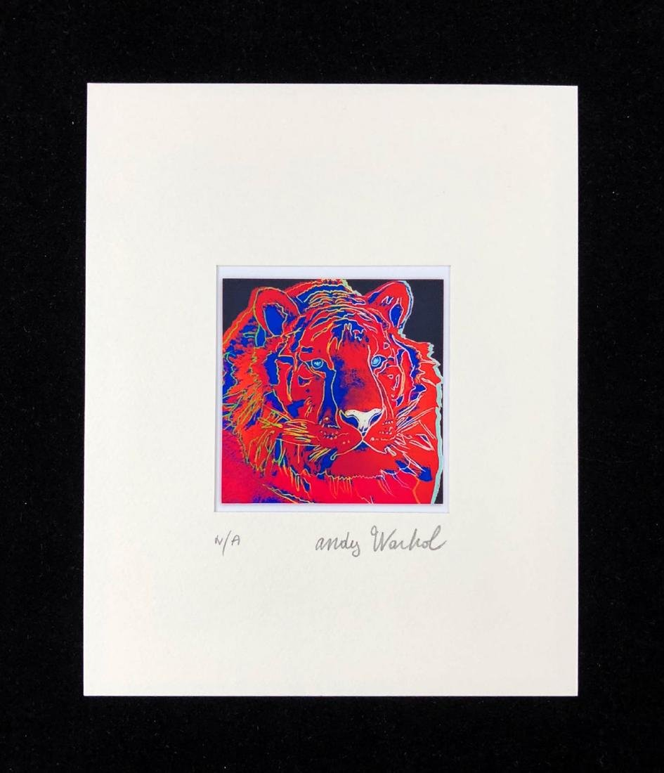 Andy Warhol (American, 1928-1987) -- Hand Signed Fine