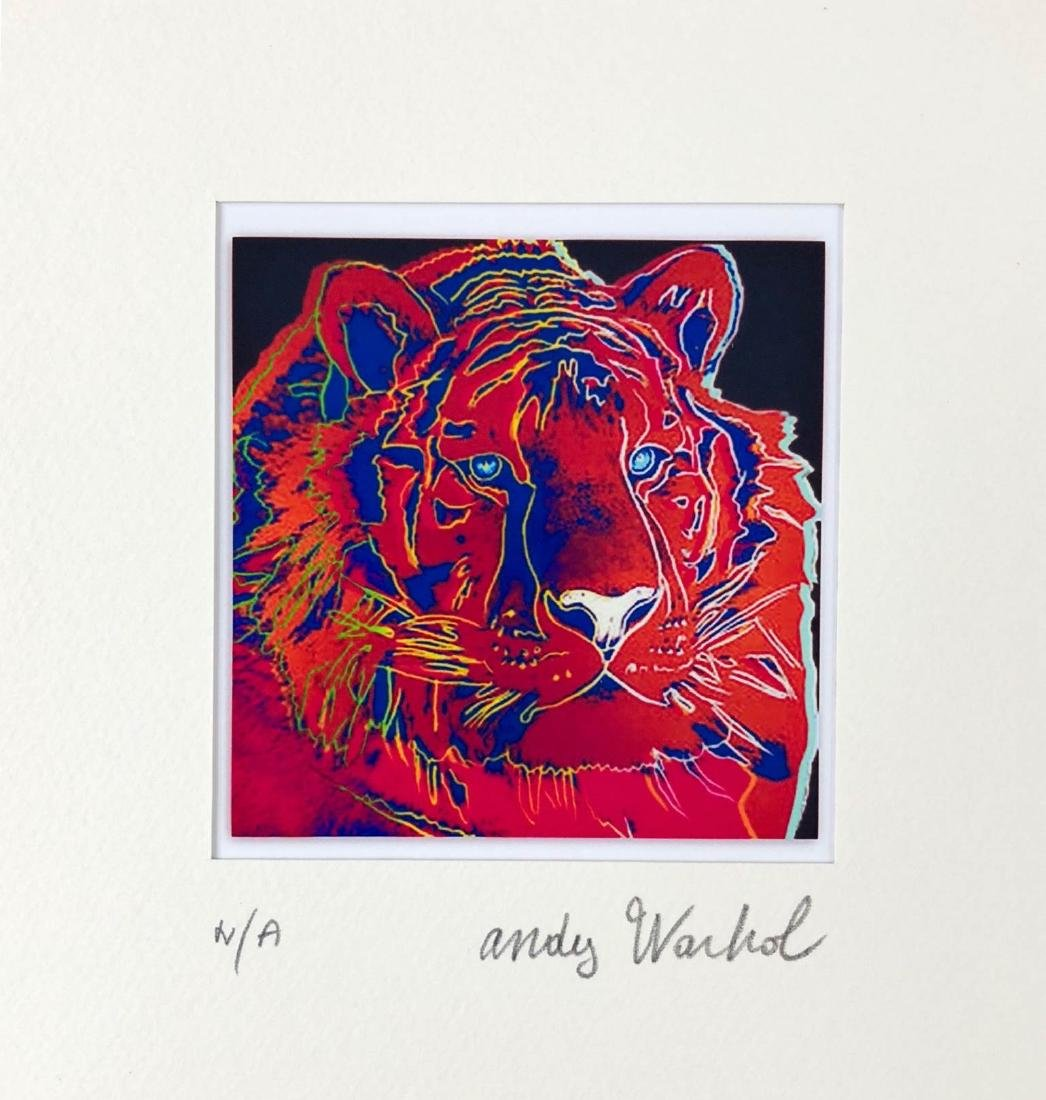 Andy Warhol (American, 1928-1987) -- Hand Signed Fine - 2