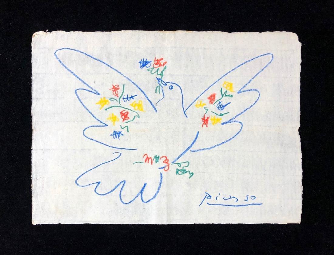 Pablo Picasso (Spanish, 1881-1973) -- Hand Drawn and