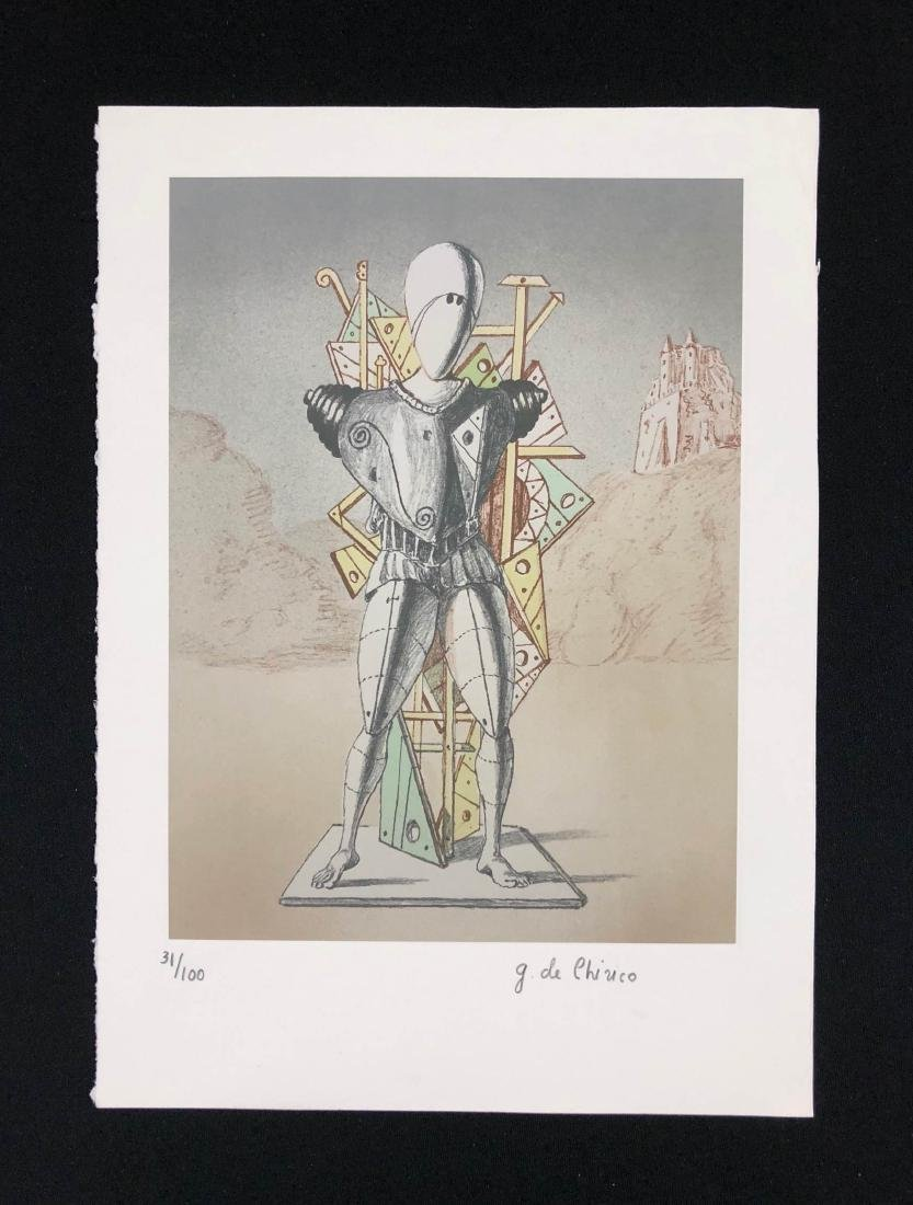 Giorgio de Chirico (Italian, 1888-1978) -- Hand Signed
