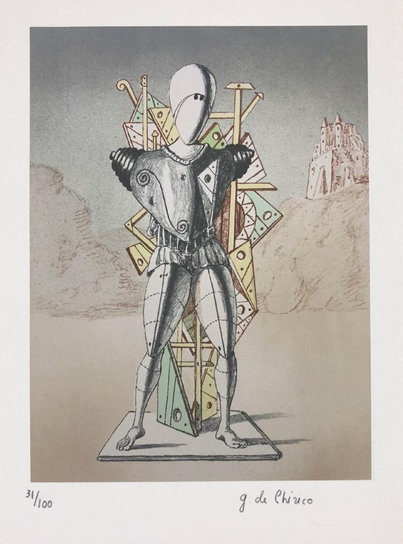 Giorgio de Chirico (Italian, 1888-1978) -- Hand Signed - 2
