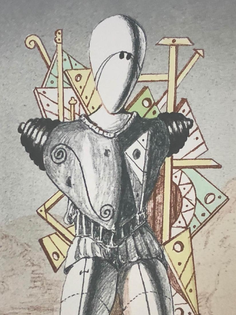 Giorgio de Chirico (Italian, 1888-1978) -- Hand Signed - 4