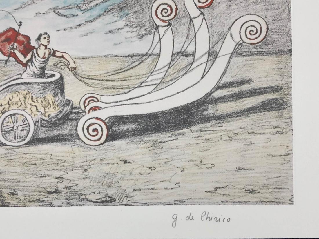 Giorgio de Chirico (Italian, 1888-1978) -- Hand Signed - 3