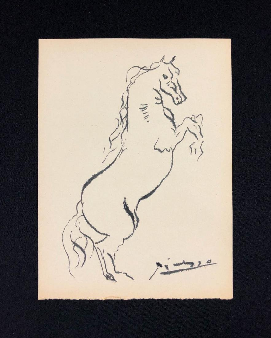 Pablo Picasso (Spanish, 1881-1973) -- Hand Signed Ink