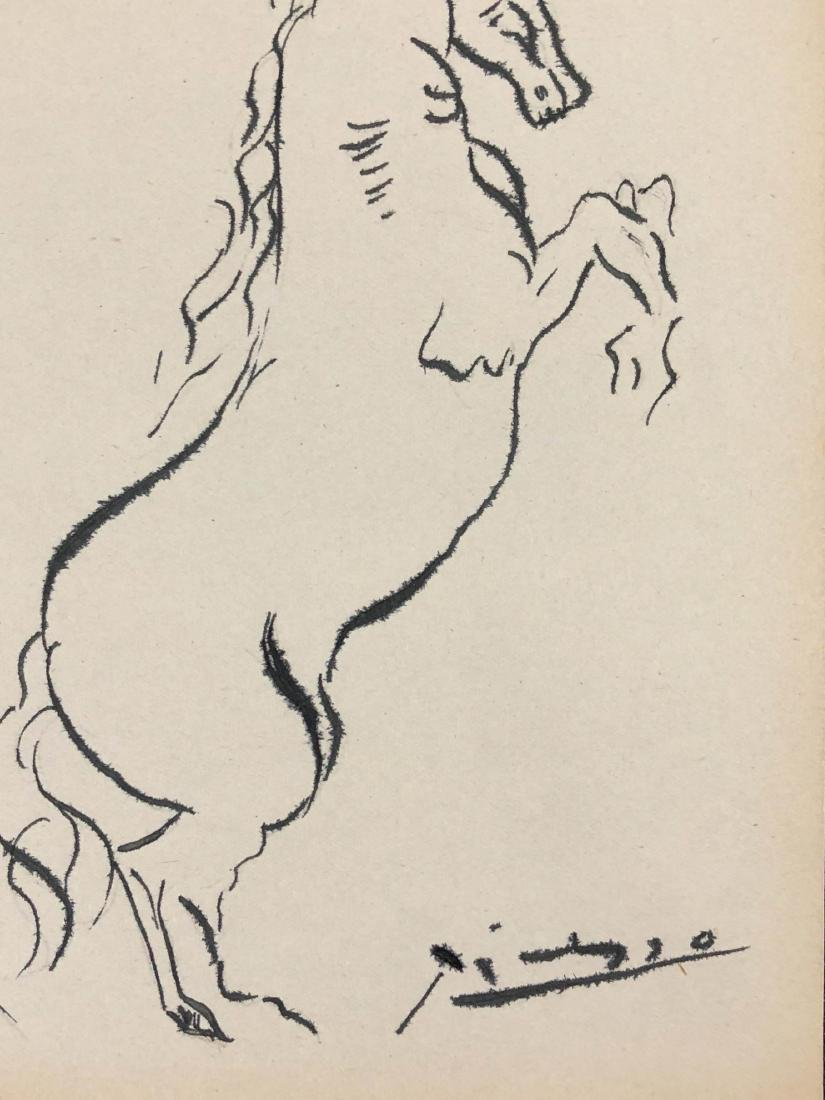 Pablo Picasso (Spanish, 1881-1973) -- Hand Signed Ink - 2