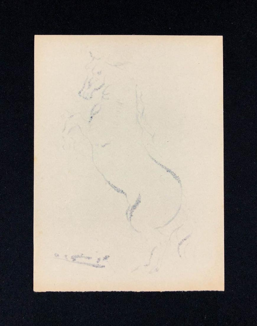 Pablo Picasso (Spanish, 1881-1973) -- Hand Signed Ink - 3