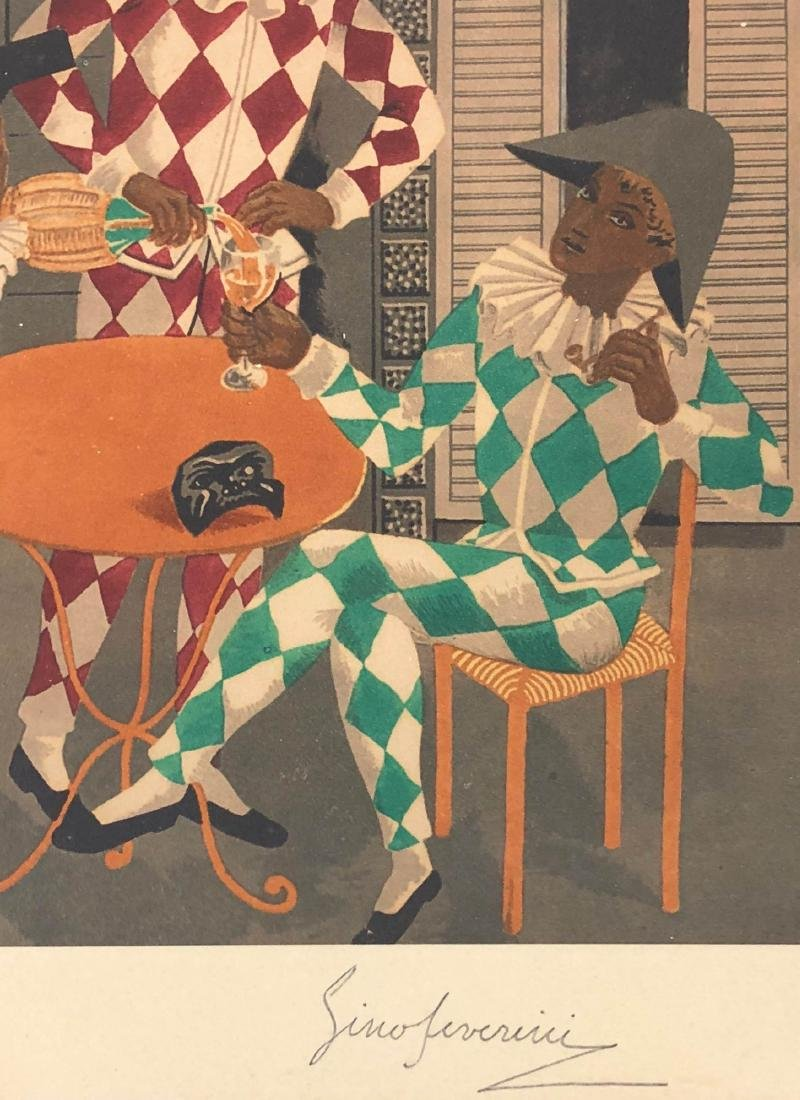 Gino Severini (Italian, 1883-1966) -- Hand Signed and - 6