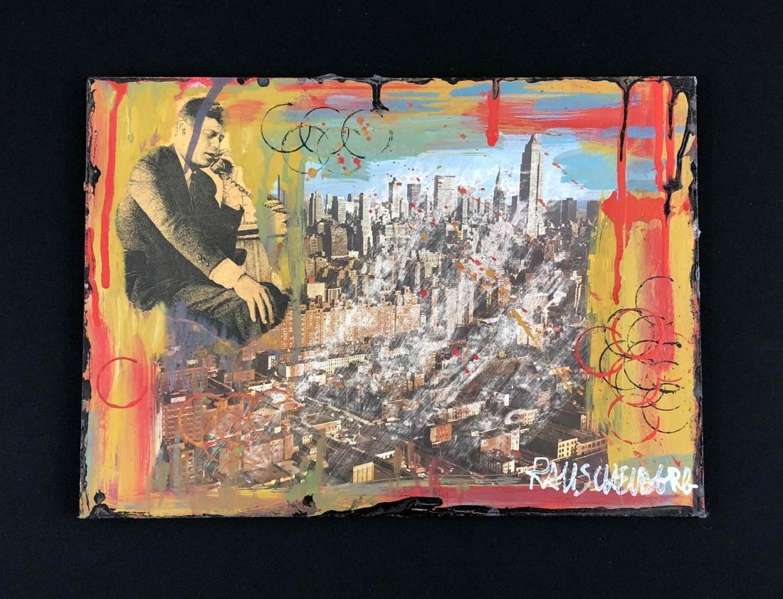 Robert Rauschenberg (American, 1925-2008) -- Hand