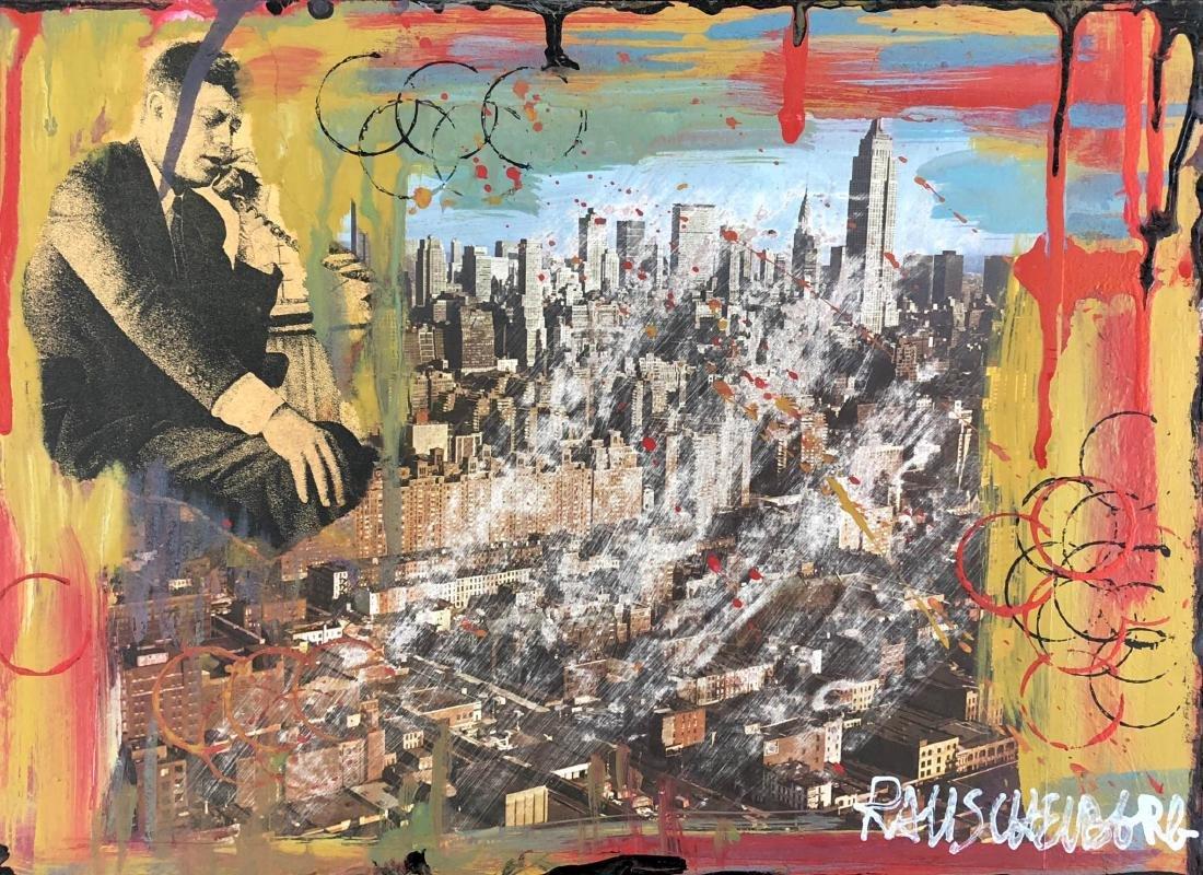 Robert Rauschenberg (American, 1925-2008) -- Hand - 2