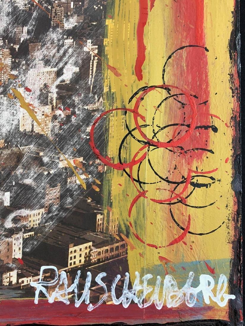 Robert Rauschenberg (American, 1925-2008) -- Hand - 3