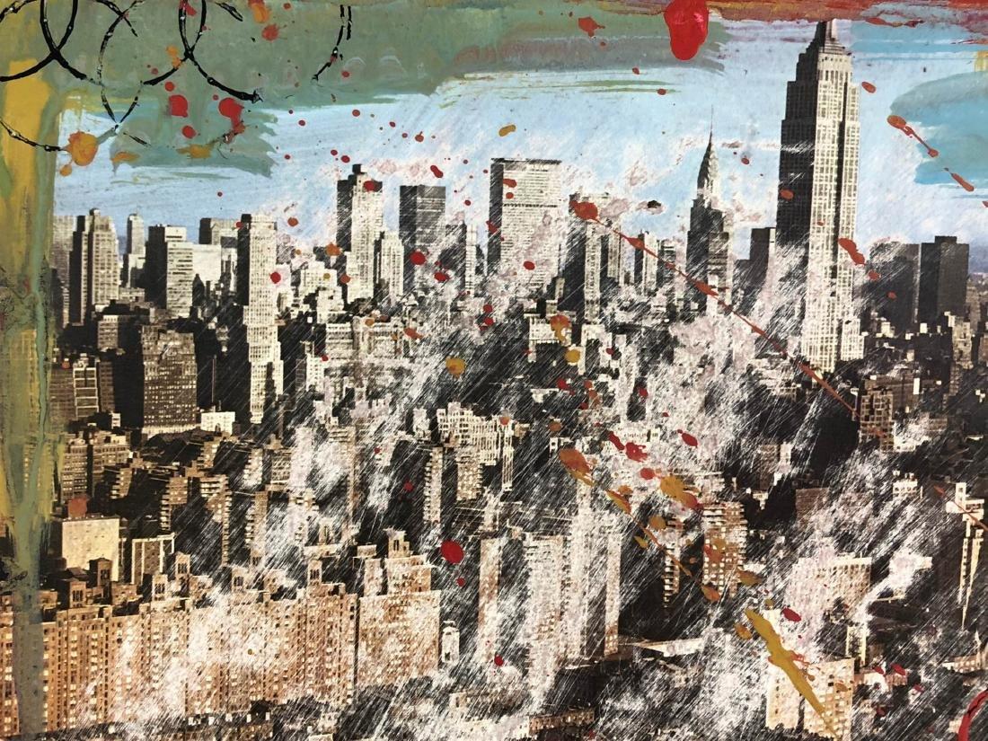 Robert Rauschenberg (American, 1925-2008) -- Hand - 4