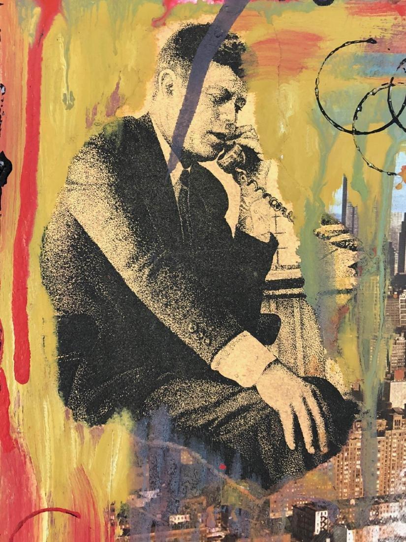Robert Rauschenberg (American, 1925-2008) -- Hand - 5