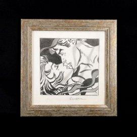 Roy Lichtenstein (American, 1923-1997) -- Hand Drawn