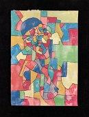 Paul Klee (Swiss/German, 1879 -1940) -- Hand Painted