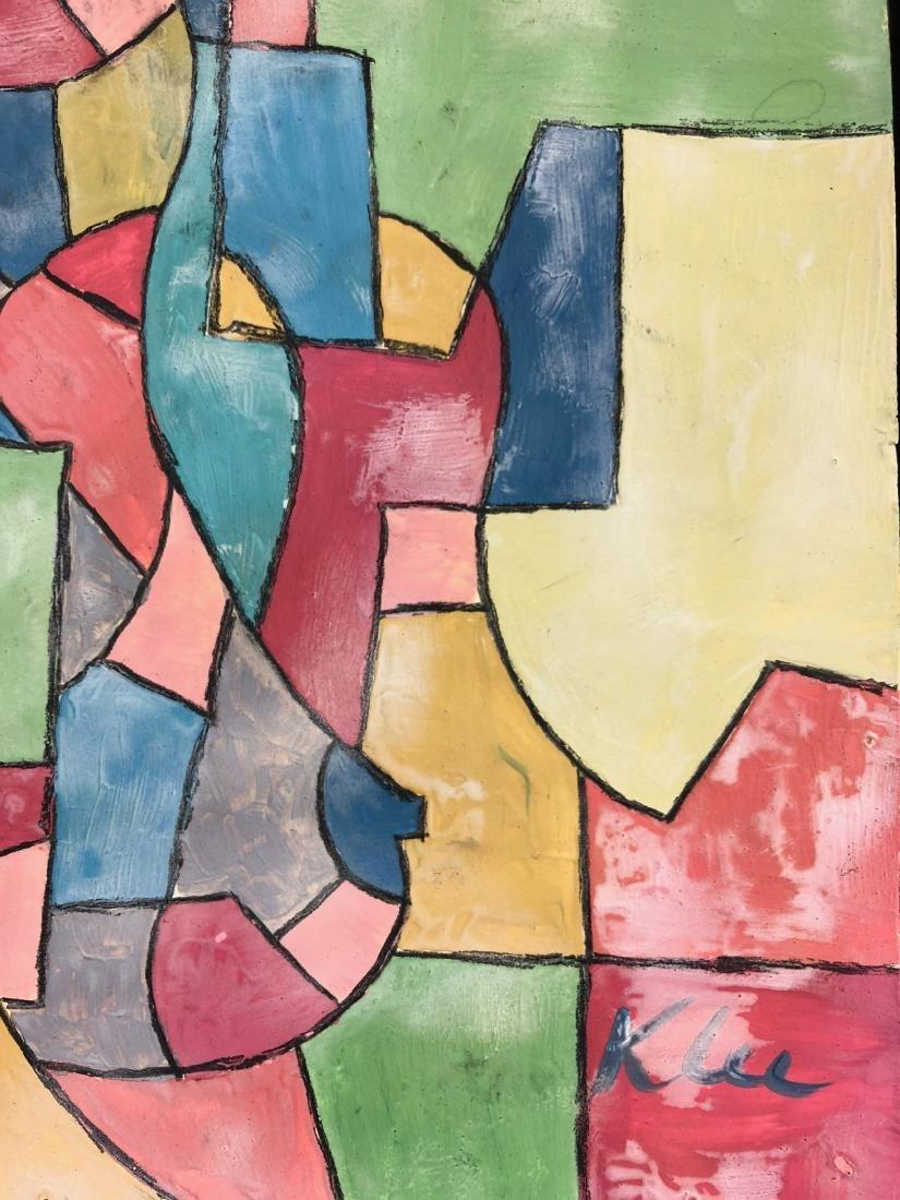 Paul Klee (Swiss/German, 1879 -1940) -- Hand Painted - 3