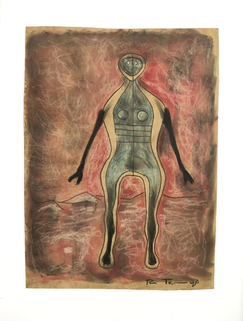 Rufino Tamayo (Mexican, 1899 -1991) -- Hand Drawn Mixed