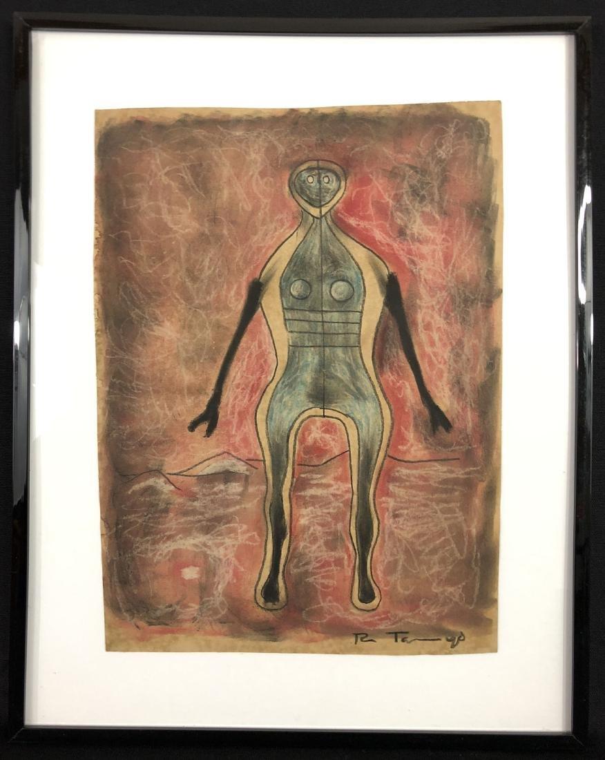 Rufino Tamayo (Mexican, 1899 -1991) -- Hand Drawn Mixed - 2