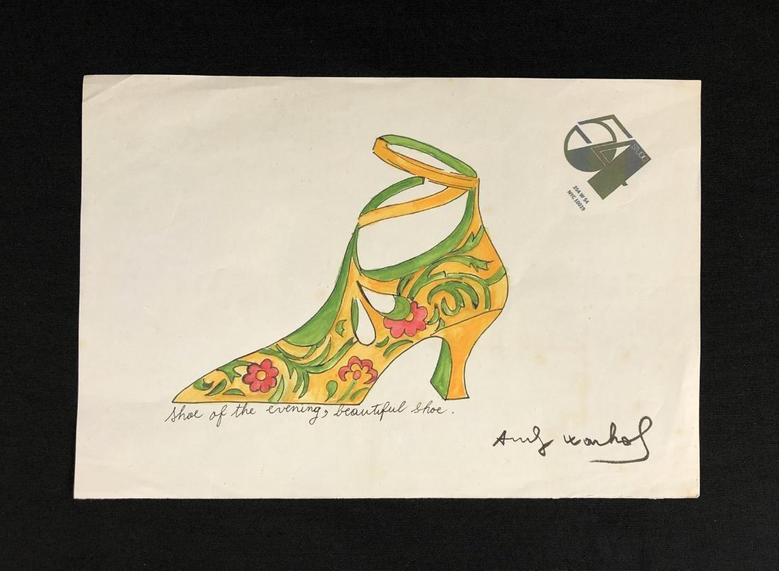 Andy Warhol (American, 1928 - 1987) -- Hand Drawn