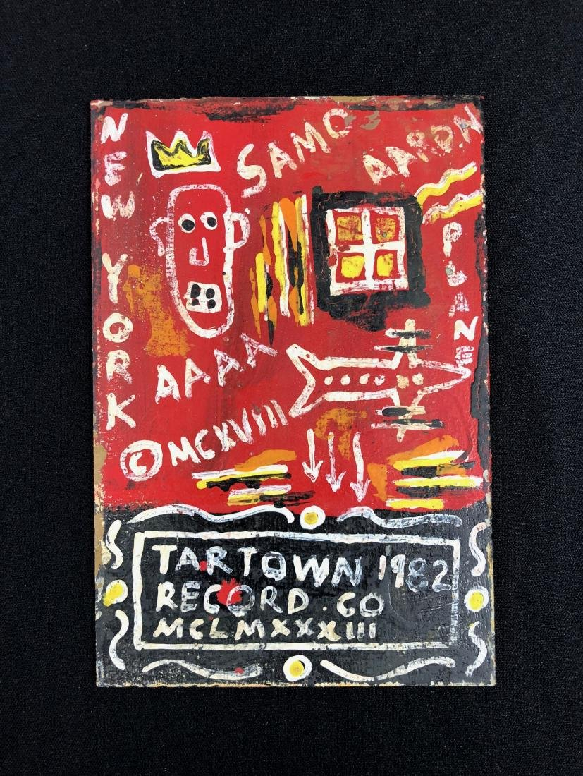 Jean-Michel Basquiat (American, 1960 -1988) -- Hand
