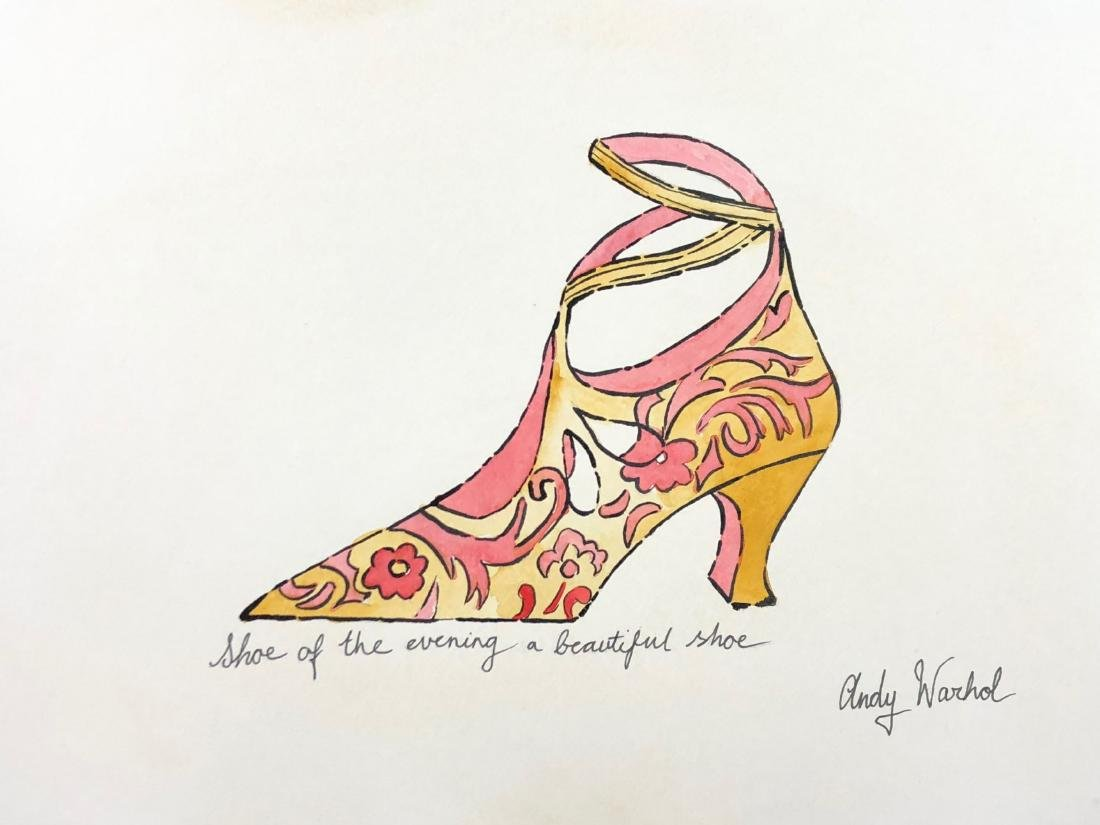 Andy Warhol (American, 1928-1987) -- Hand Painted Mixed - 2