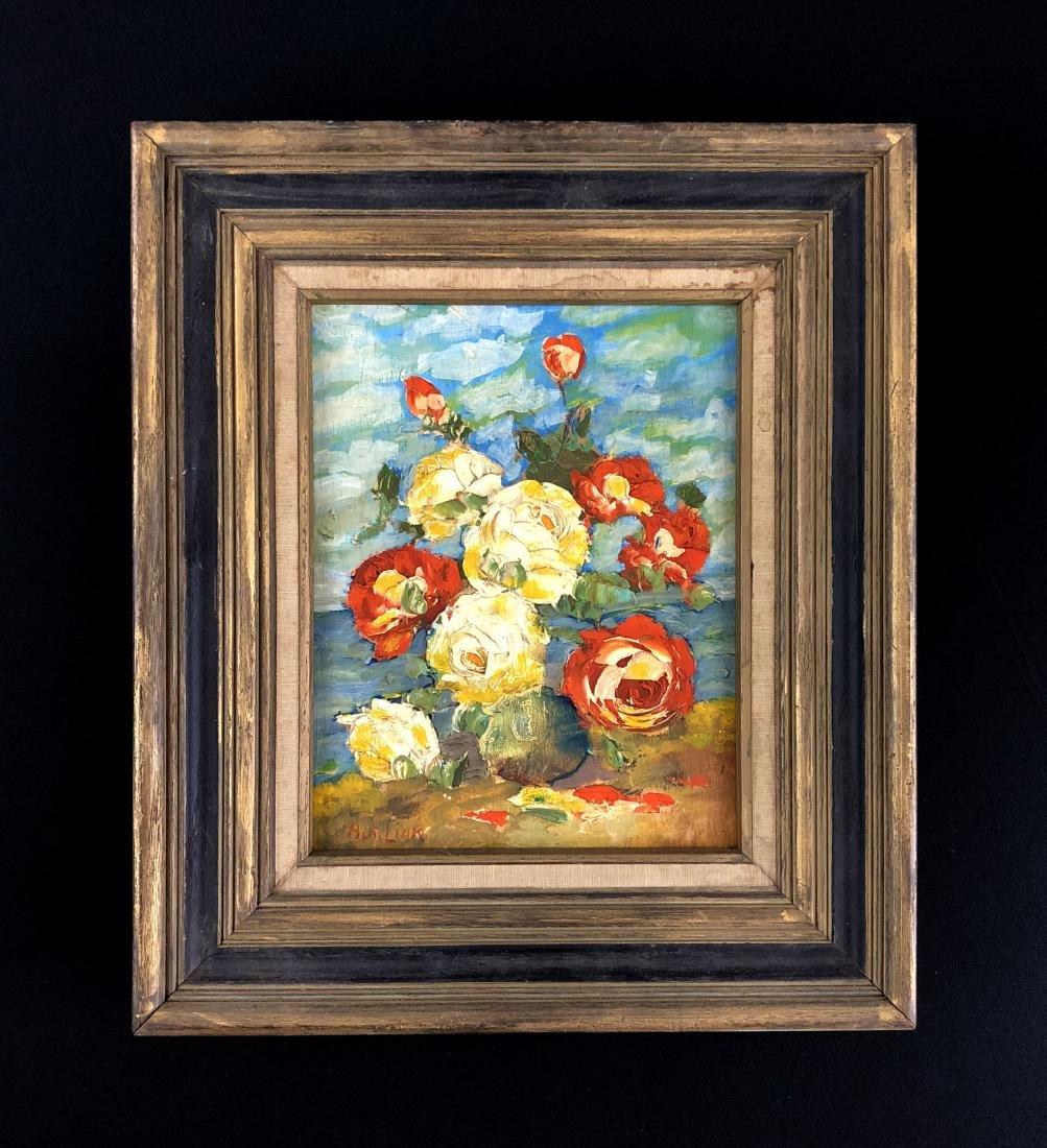 David Burliuk (Ukrainian, 1882 -1967) -- Hand Painted