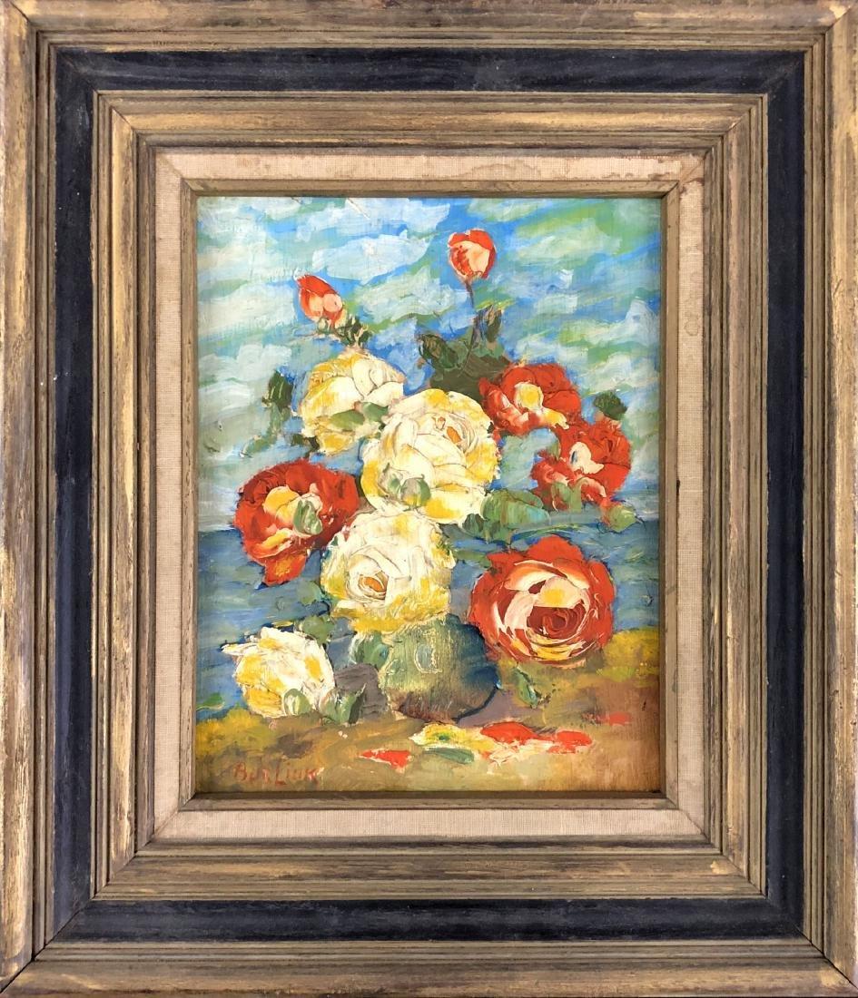 David Burliuk (Ukrainian, 1882 -1967) -- Hand Painted - 2