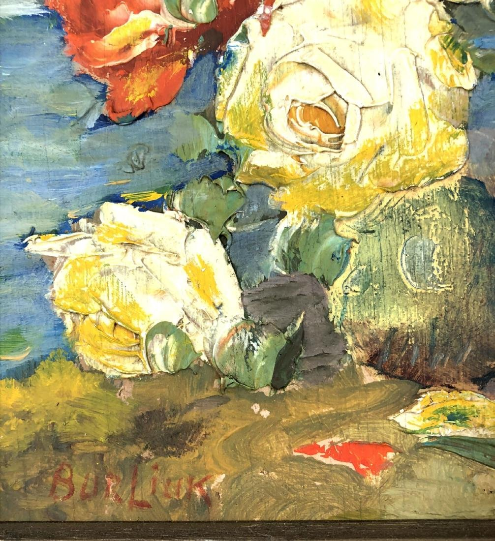 David Burliuk (Ukrainian, 1882 -1967) -- Hand Painted - 3