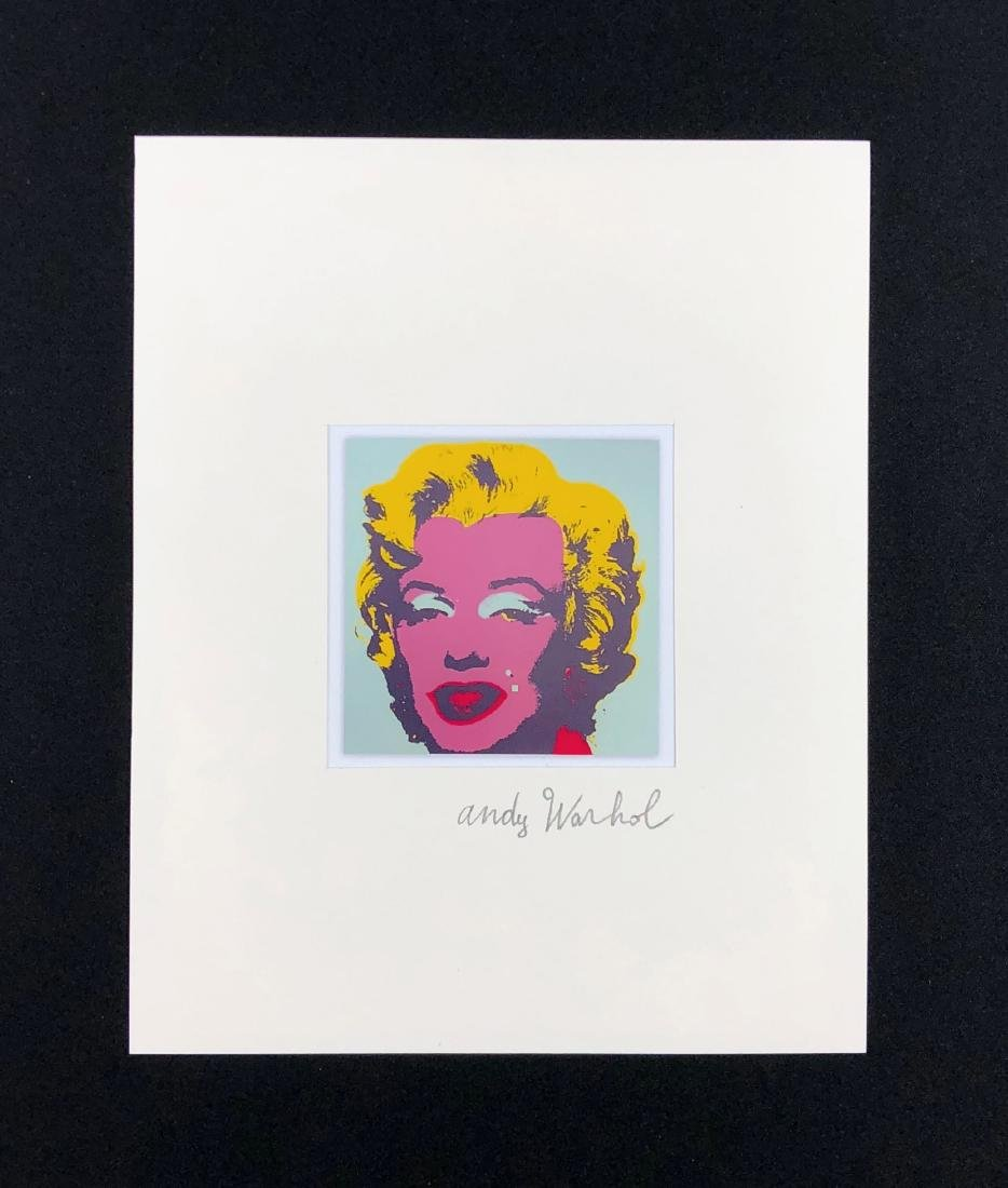 Andy Warhol (American, 1928 -1987) -- Hand Signed Fine