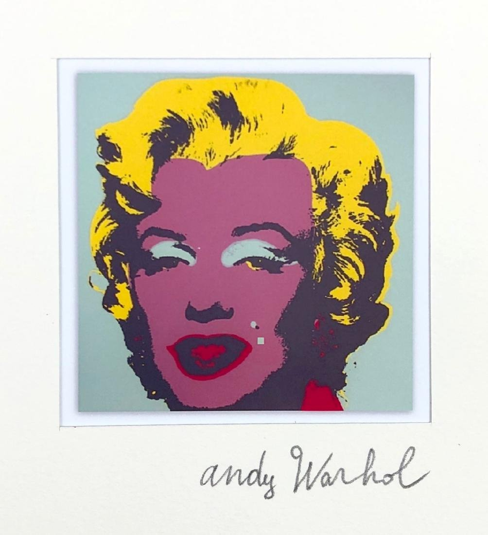 Andy Warhol (American, 1928 -1987) -- Hand Signed Fine - 3
