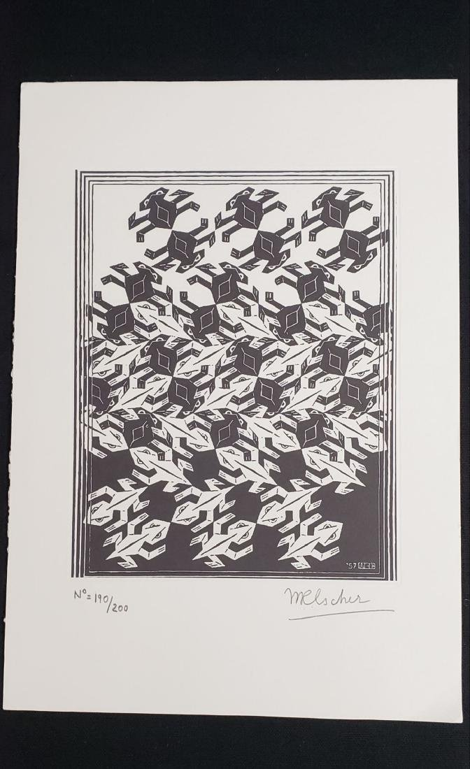 M.C. Escher (Dutch, 1898-1972) -- Hand Signed Fine Art