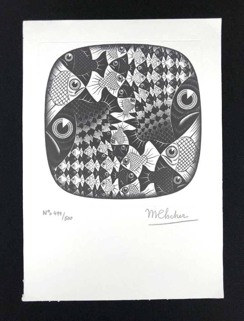 M.C. Escher (Dutch, 1898 -1972) -- Hand Signed Fine Art