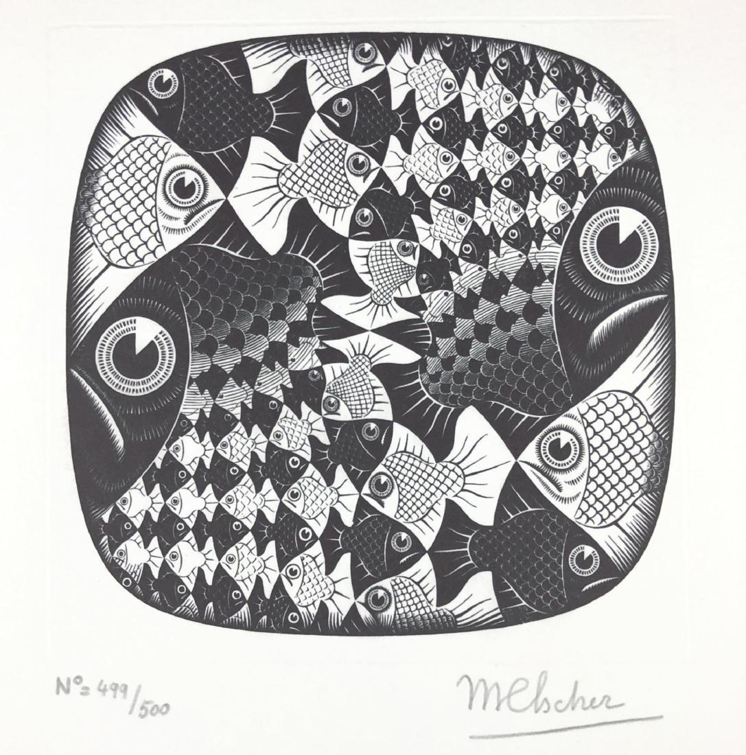M.C. Escher (Dutch, 1898 -1972) -- Hand Signed Fine Art - 2