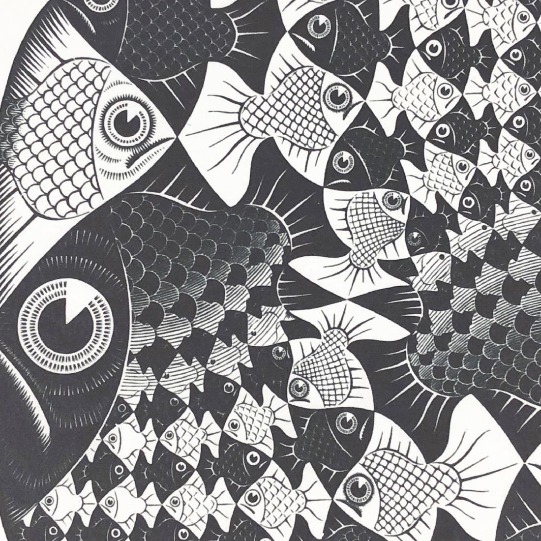M.C. Escher (Dutch, 1898 -1972) -- Hand Signed Fine Art - 3