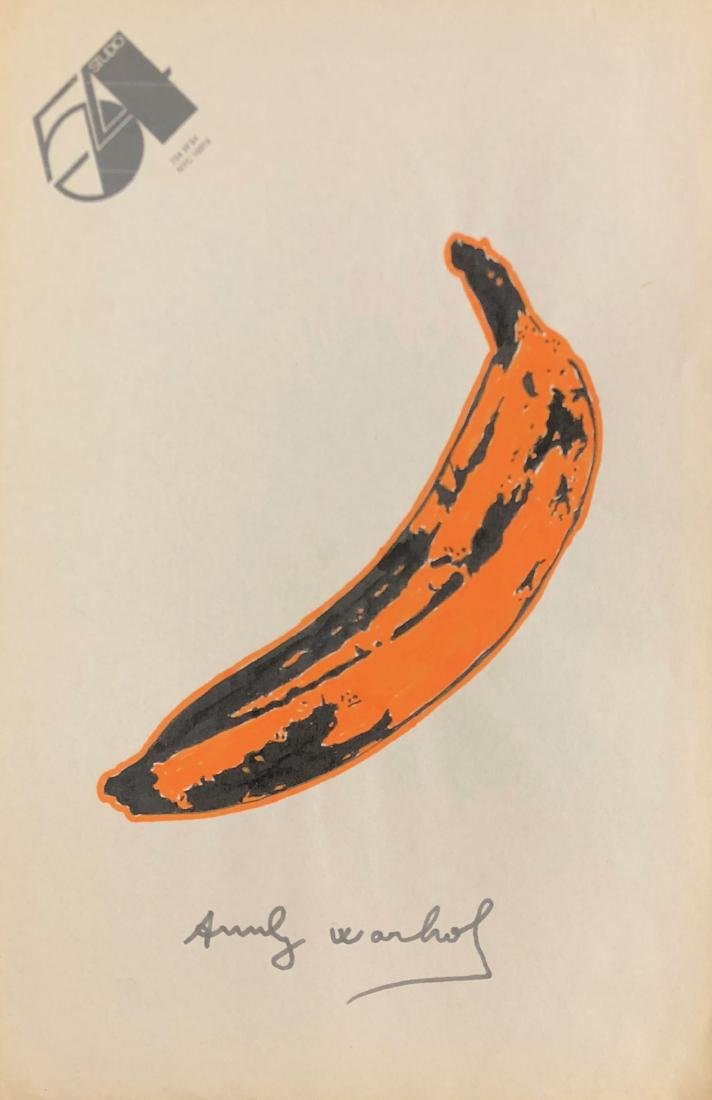 Andy Warhol (American, 1928 -1987) -- Hand Painted - 2