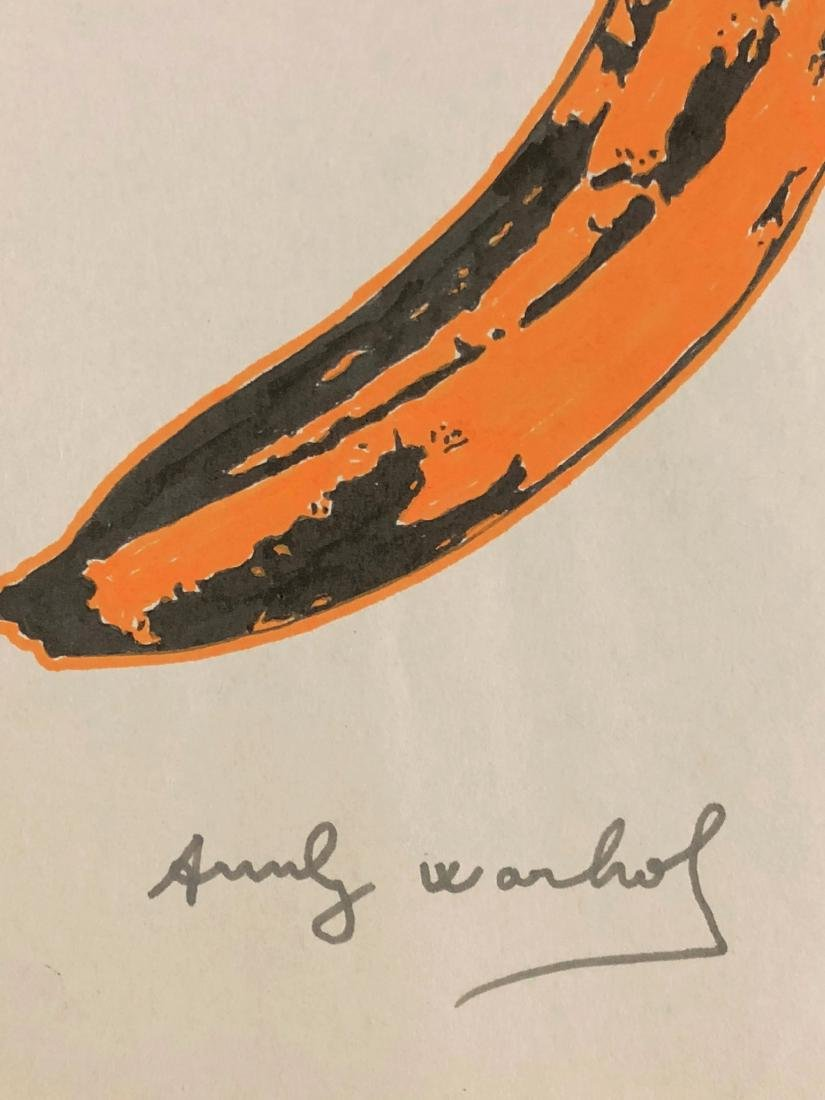 Andy Warhol (American, 1928 -1987) -- Hand Painted - 3