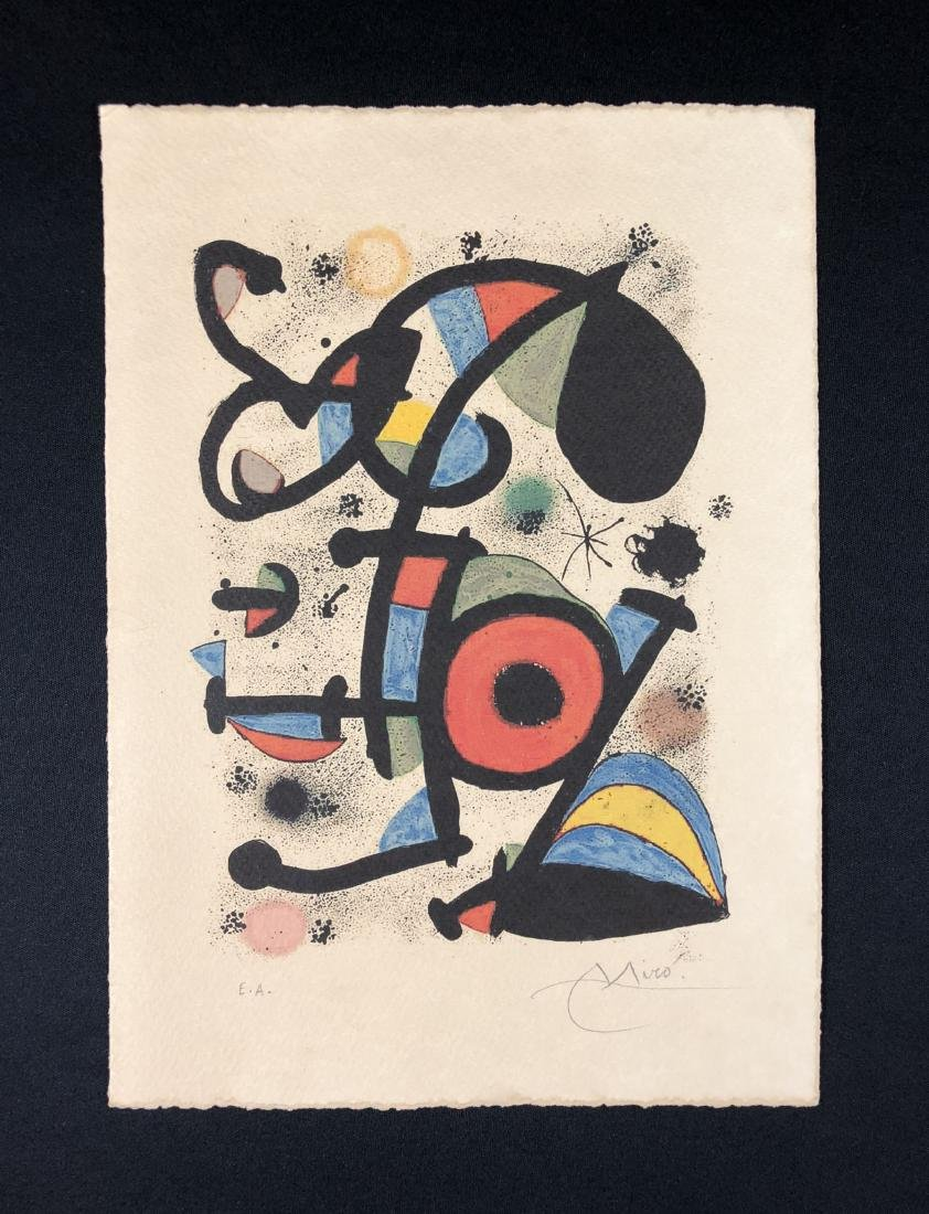 Joan Miro (Spanish, 1893 -1983) -- Hand Signed Fine Art