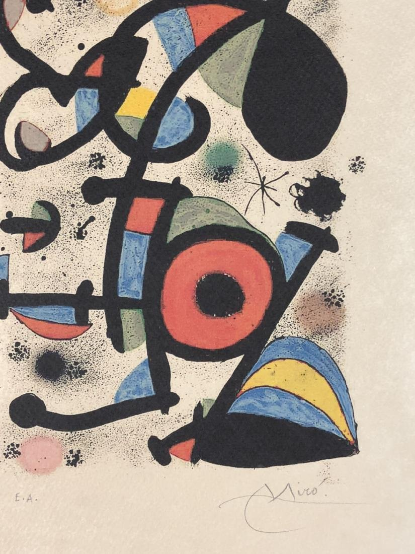 Joan Miro (Spanish, 1893 -1983) -- Hand Signed Fine Art - 2